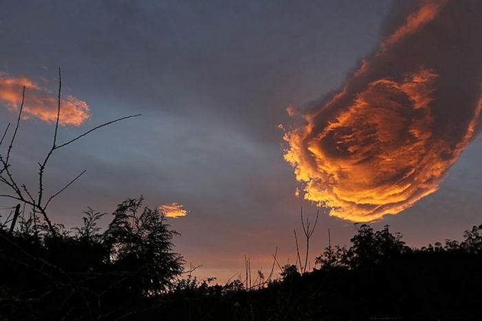 вогняна рука Бога острів Мадейра Португалія
