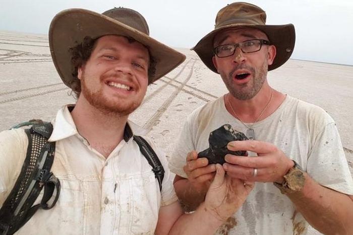 найдавніший метеорит австралія