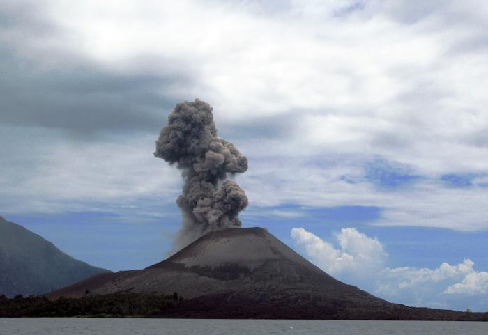 Кракатау вулкан