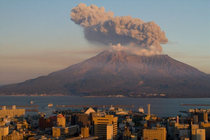 вулкан іо японія