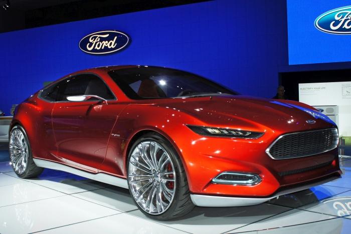 Ford Evos Plug-in Hybrid
