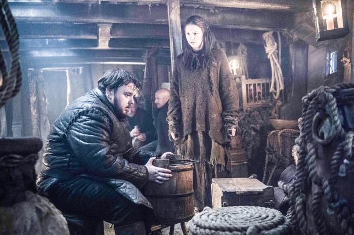 кадри з шостого сезону Гри престолів