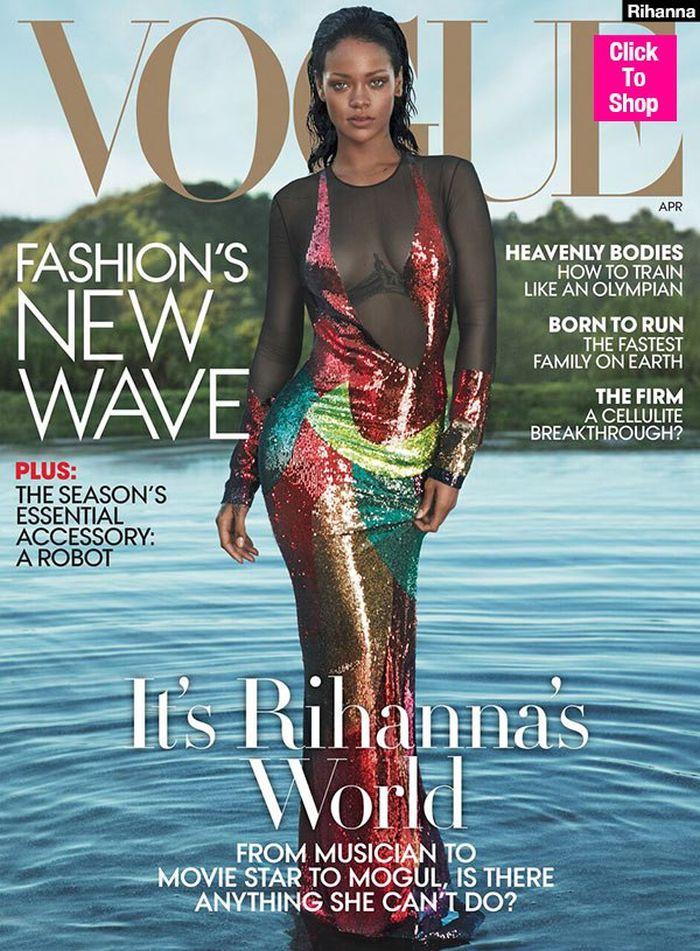 Ріанна на обкладинці Vogue