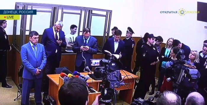 судилище над надією савченко