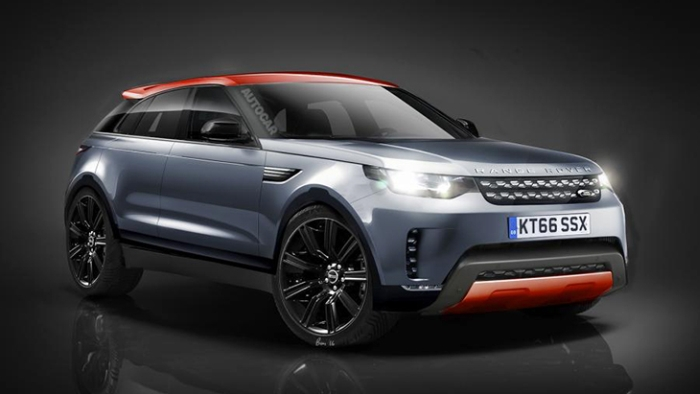 Range Rover Sport Coupe тизер