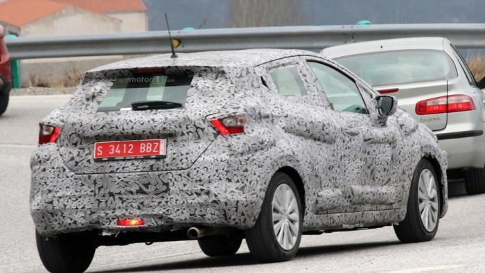 Nissan Micra 2016 не тестах