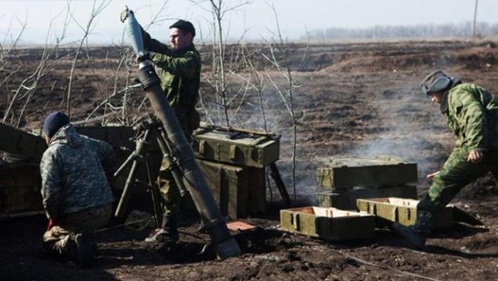 ато бойовики міномети обстріли