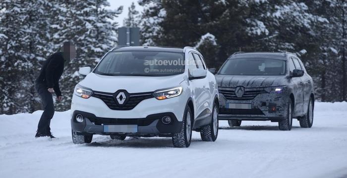 Renault Maxthon на тестах у Швеції