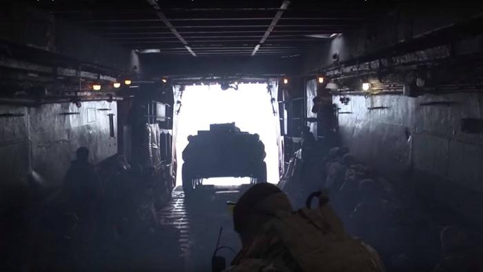 тренування морської піхоти ВМС ЗСУ