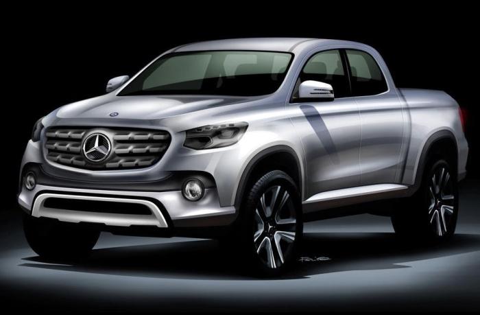 Mercedes-Benz X-Class тизер