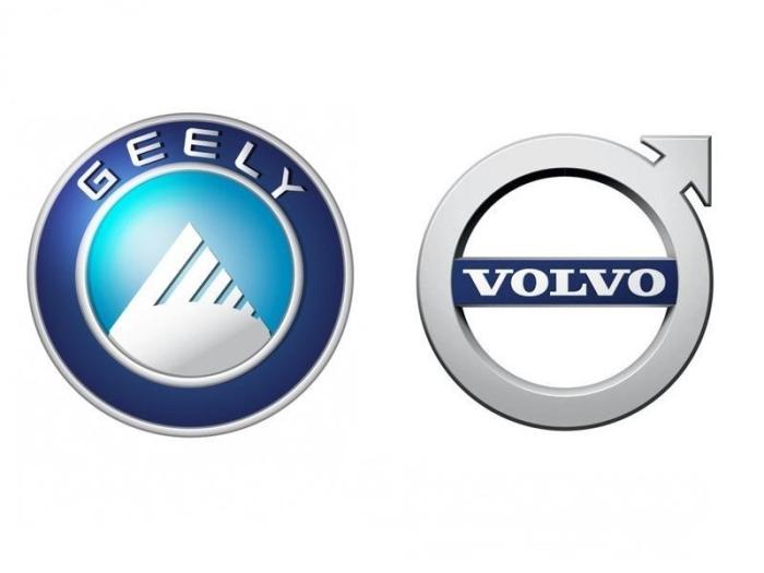 Volvo і Geely логотип