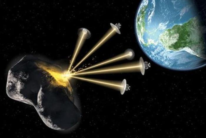 астероїд лазери