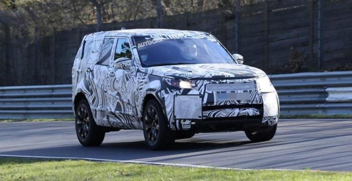 Land Rover Discovery нюрбургринг тести