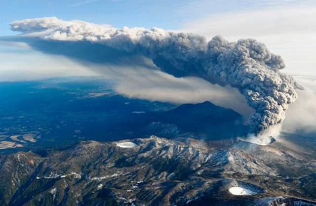 вулкани змінюють клімат