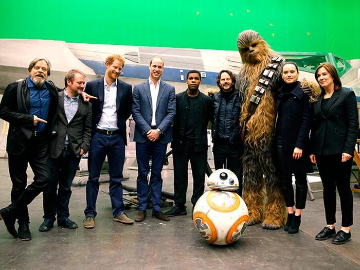 Вільям і Гаррі зоряні війни