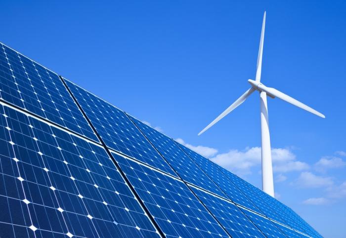 сонячна та вітрова енергетика