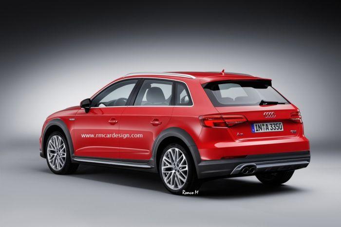 Audi A3 Allroad Quattro рендер