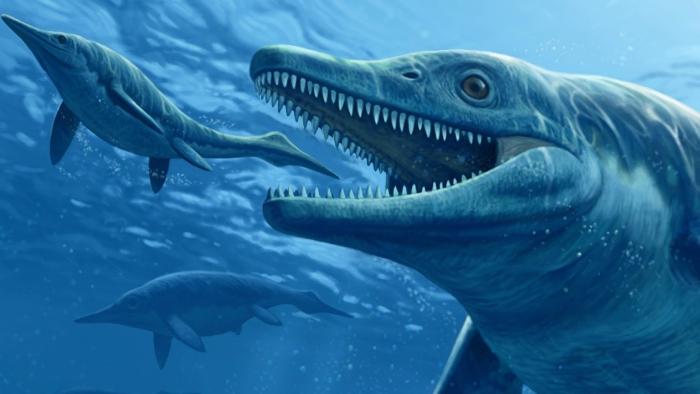 морські рептилії древні