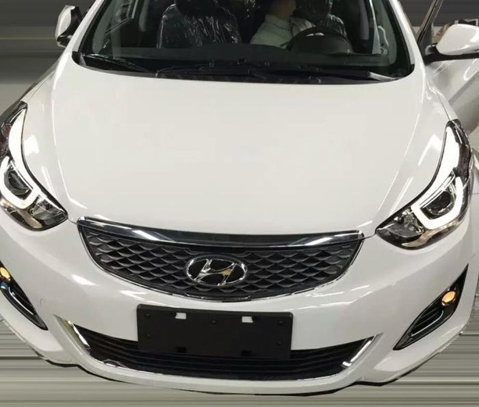 Hyundai Elantra для китайського ринку