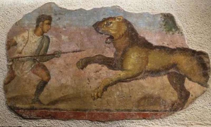 стародавні люди воювали з хижаками