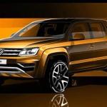 Volkswagen Amarok 2017 тизер