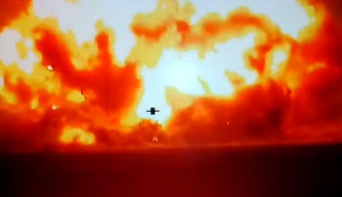 знищення боєкомплекту терористів
