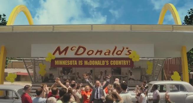 трейлер фільму про засновника McDonald's