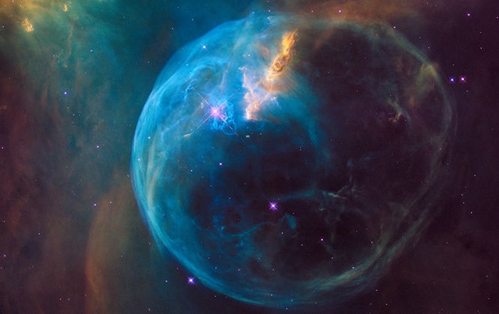 туманність NGC 7635