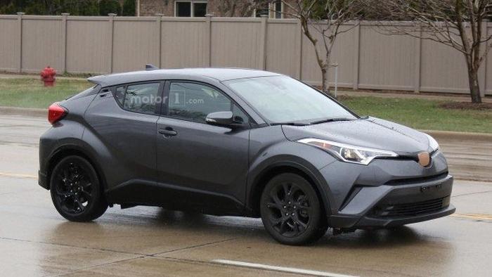 прототип Toyota C-HR 2018