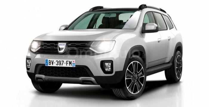 Dacia Duster рендер
