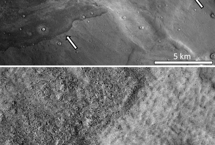 цунамі на марсі