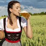 пиво жінка