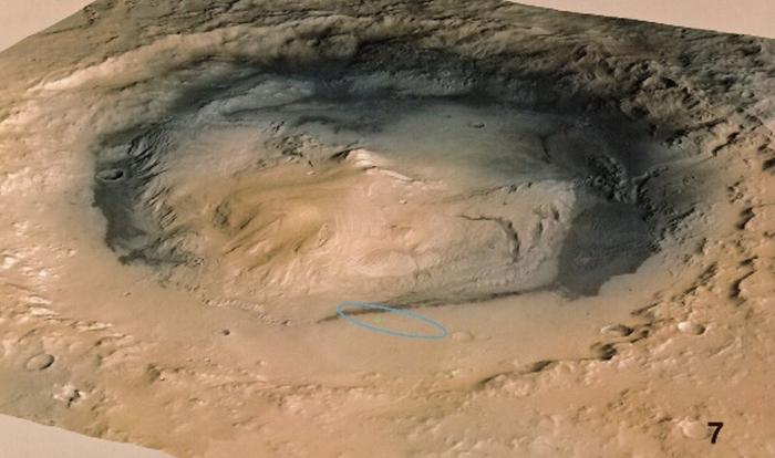 кратер Гейл