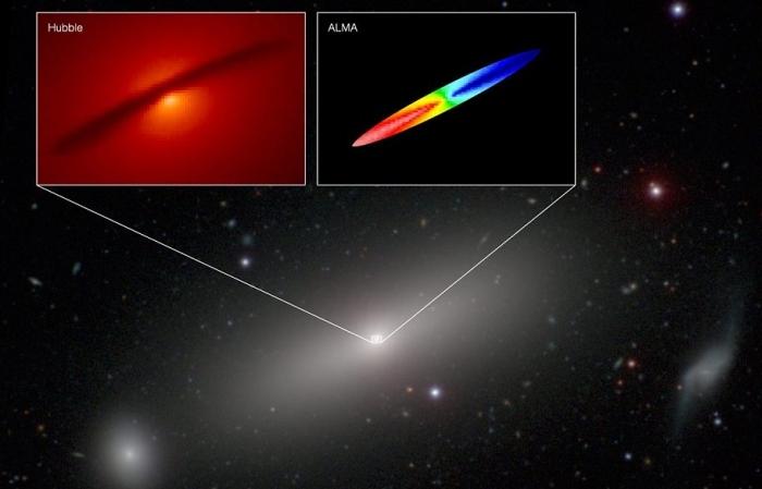 чорна діра NGC 1332