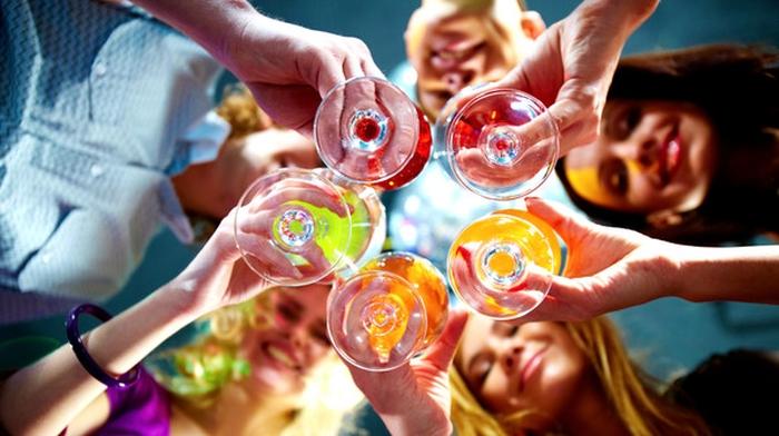алкоголь вечірка