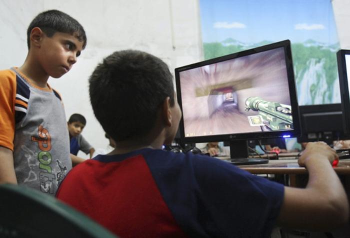 комп'ютерні ігри підлітки