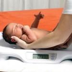 новонароджений вага