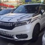 Автомобіль помітили під час проходження дорожніх тестів у Китаї