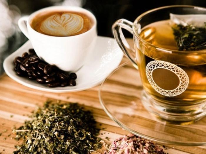 кава чай