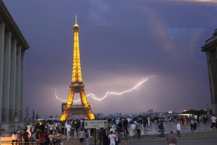 париж блискавка