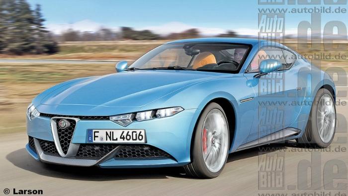 Очікуваний вигляд Alfa Romeo Brera