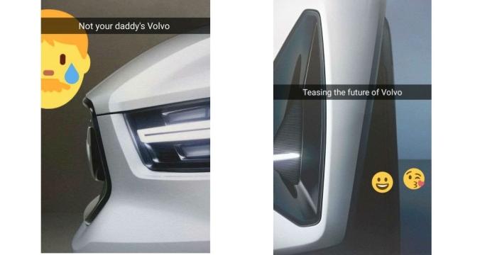 Volvo V40 і XC40 тизер