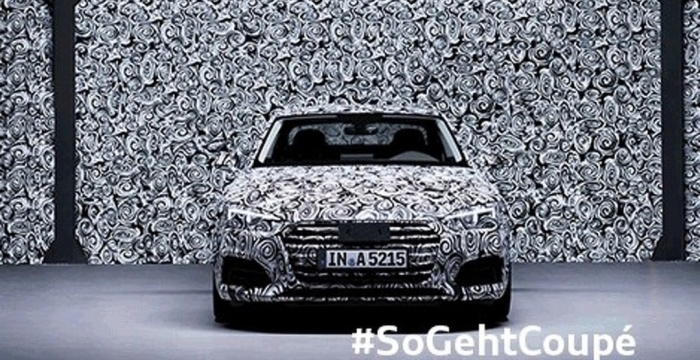 Audi A5 тизер