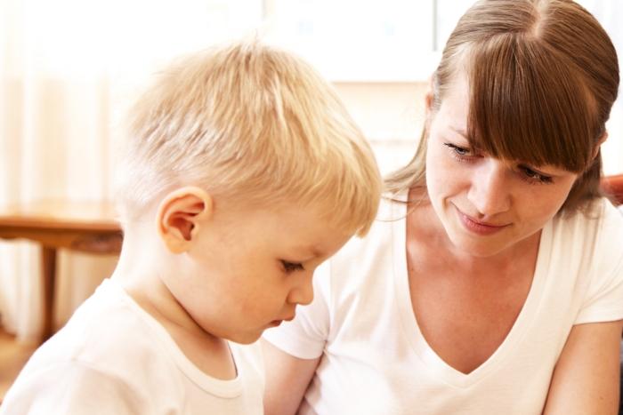 матір з сином