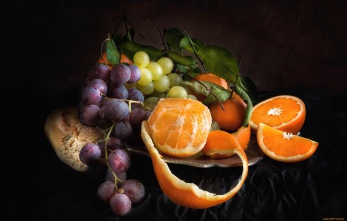 виноград апельсин