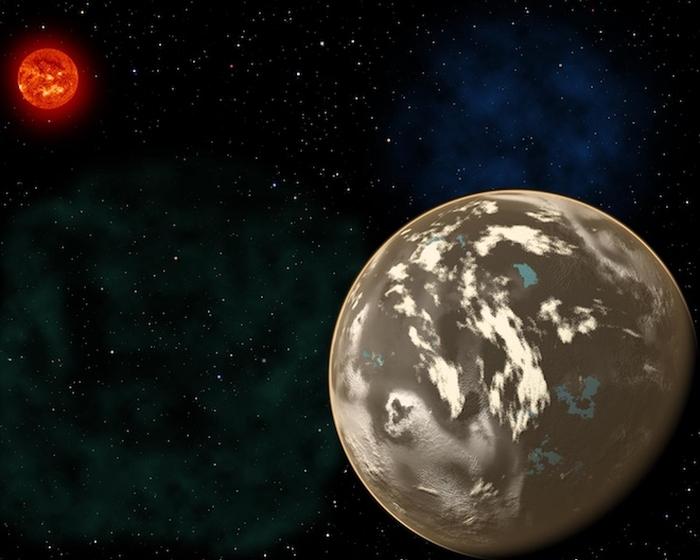 Вуглецева планета - ілюстрація