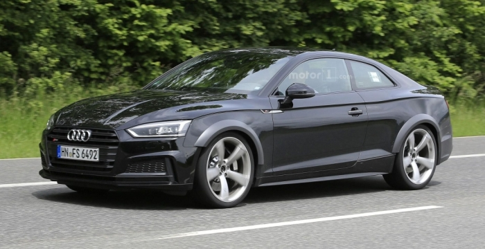 Audi RS5 на тестах