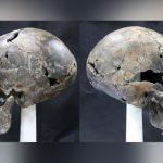 жіночий череп незвичайної витягнутої форми