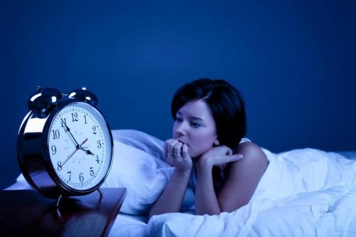 жінка безсоння