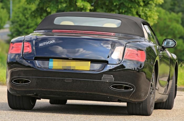 Bentley Continental GT кабріолет